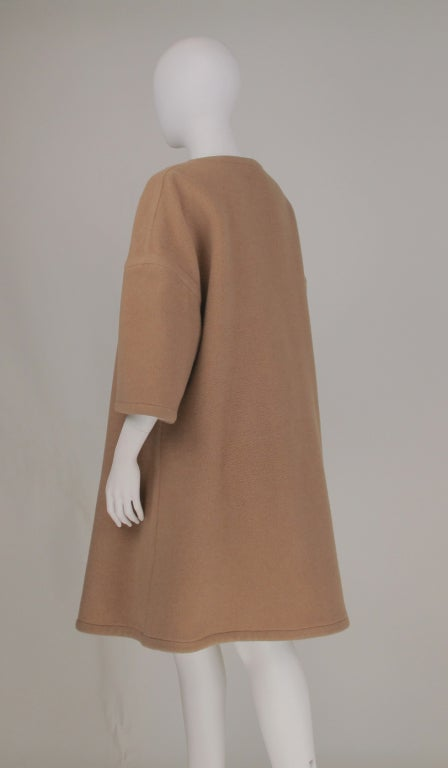Double face wool/cashmere  reversible coat 1960s image 7