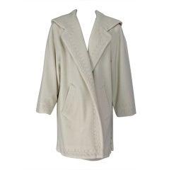 Byblos cream applique coat
