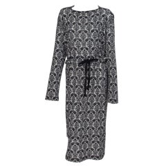 Comme des Garcons, Tao black and white knit dress