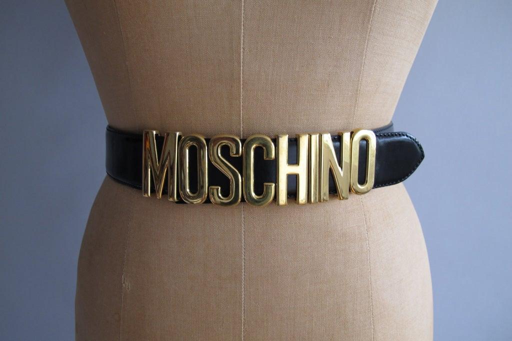 Moschino belt 2