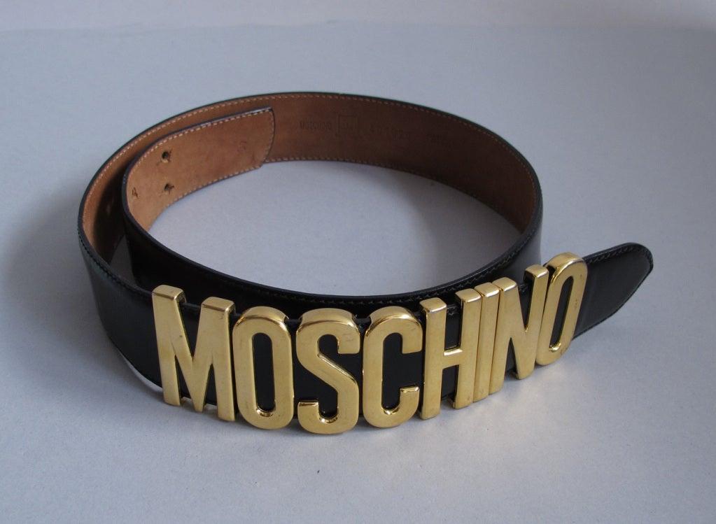 Moschino belt 5