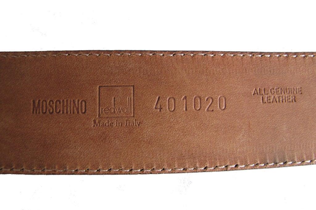 Moschino belt 6