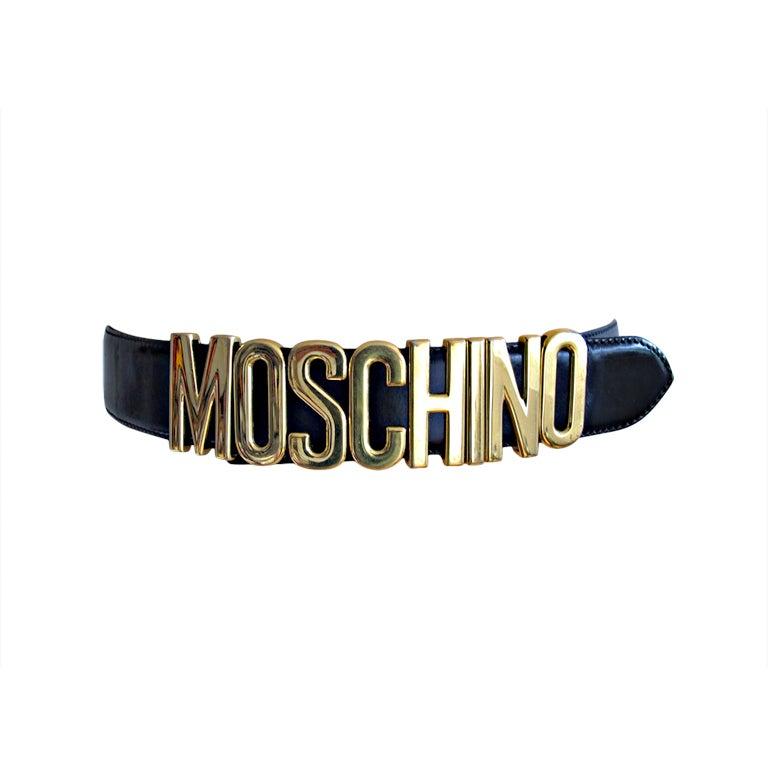 Moschino belt 1