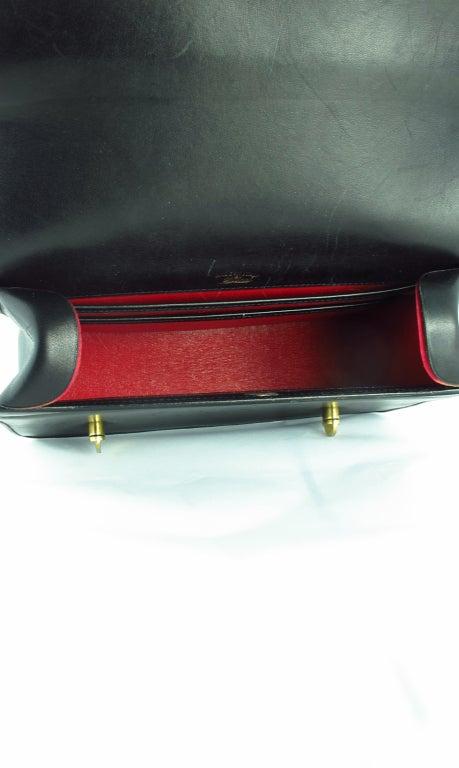 Rare Gucci bamboo handle handbag 1960s 8