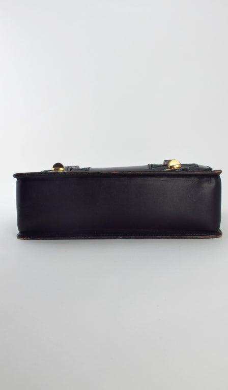 Rare Gucci bamboo handle handbag 1960s 9