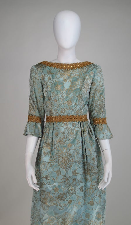 Rare Lisa Meril gown designed by Jo Copeland 1970s 3