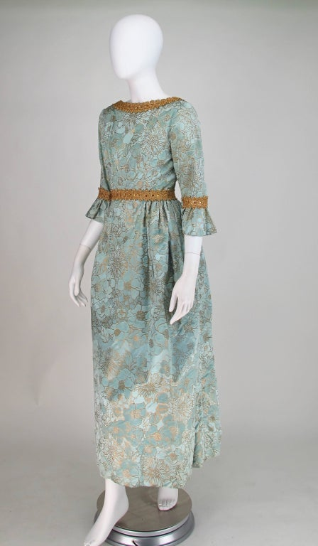 Rare Lisa Meril gown designed by Jo Copeland 1970s 4