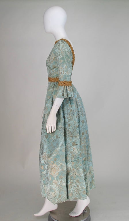 Rare Lisa Meril gown designed by Jo Copeland 1970s 5