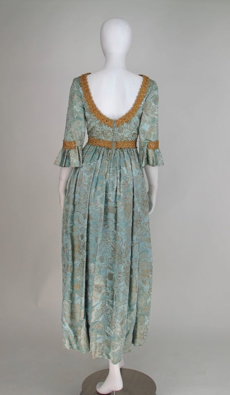 Rare Lisa Meril gown designed by Jo Copeland 1970s 6