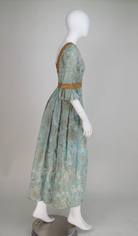 Rare Lisa Meril gown designed by Jo Copeland 1970s 7