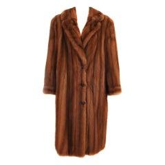 Maggy Rouff mink  coat 1960s