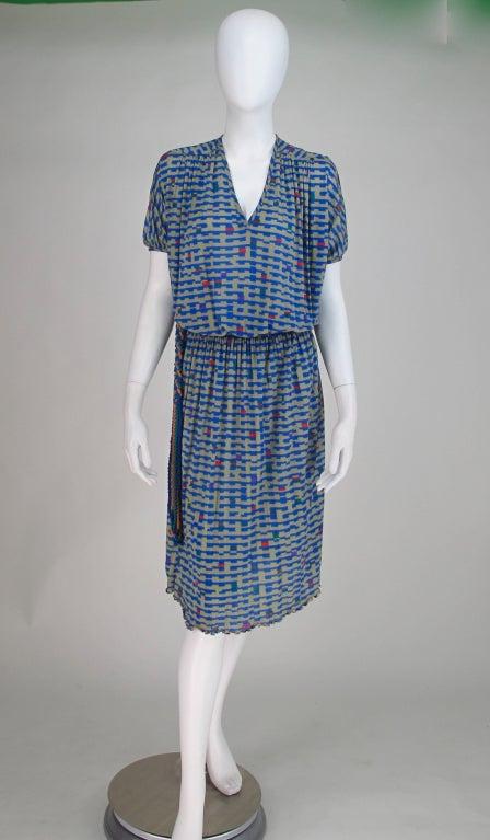 Missoni fine silk knit dress 2
