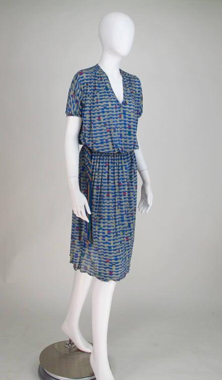 Missoni fine silk knit dress 3