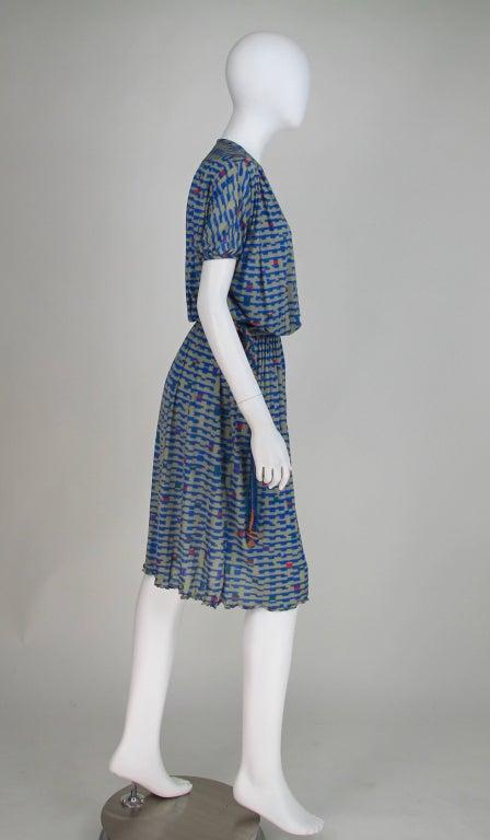 Missoni fine silk knit dress 4