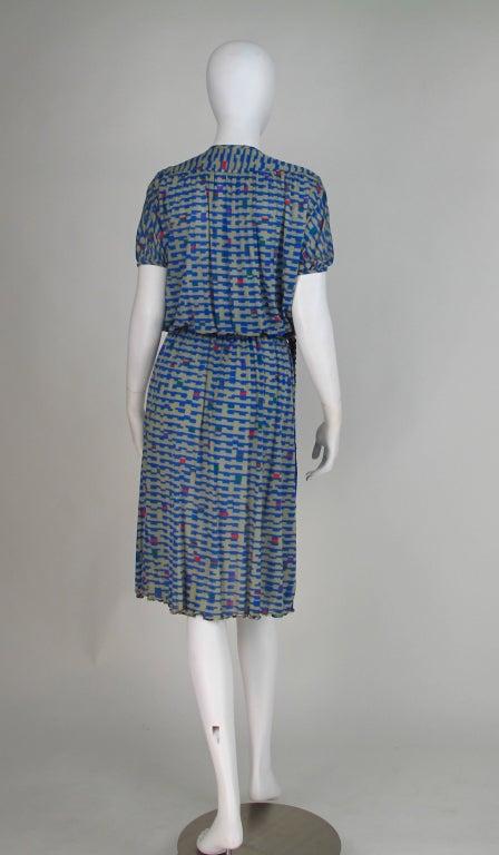 Missoni fine silk knit dress 5