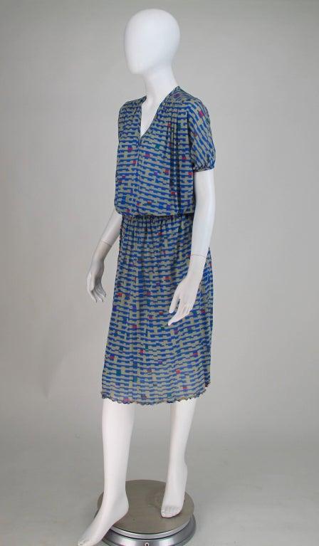 Missoni fine silk knit dress 7