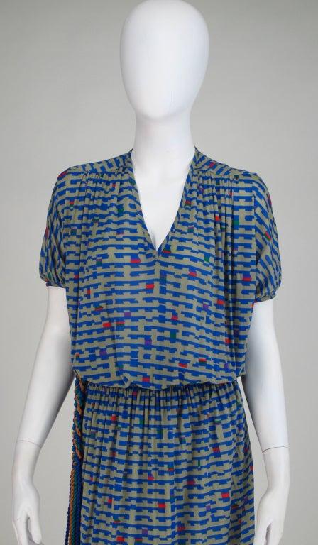 Missoni fine silk knit dress 8