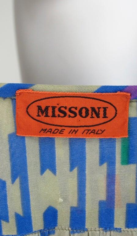 Missoni fine silk knit dress 9