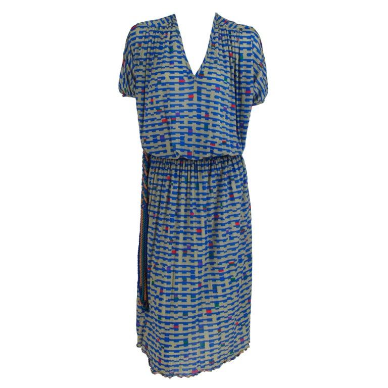 Missoni fine silk knit dress 1