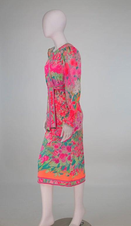 Leonard, Paris silk knit dress 3