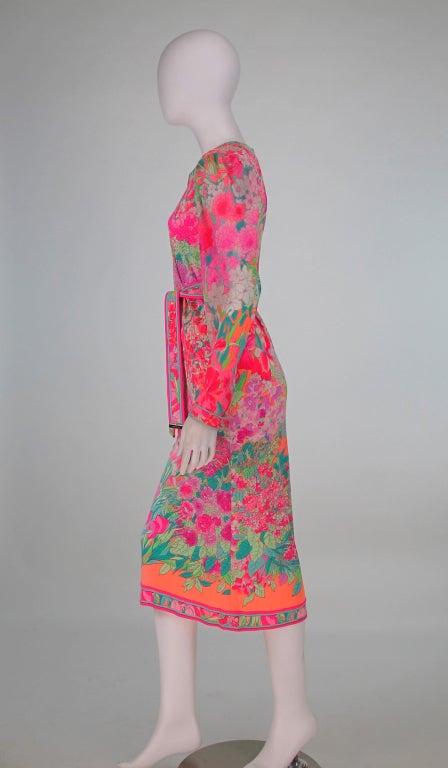Leonard, Paris silk knit dress 4