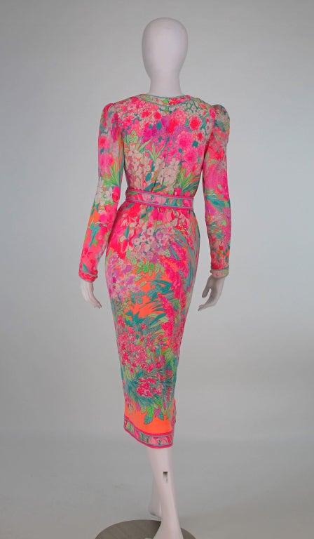 Leonard, Paris silk knit dress 5