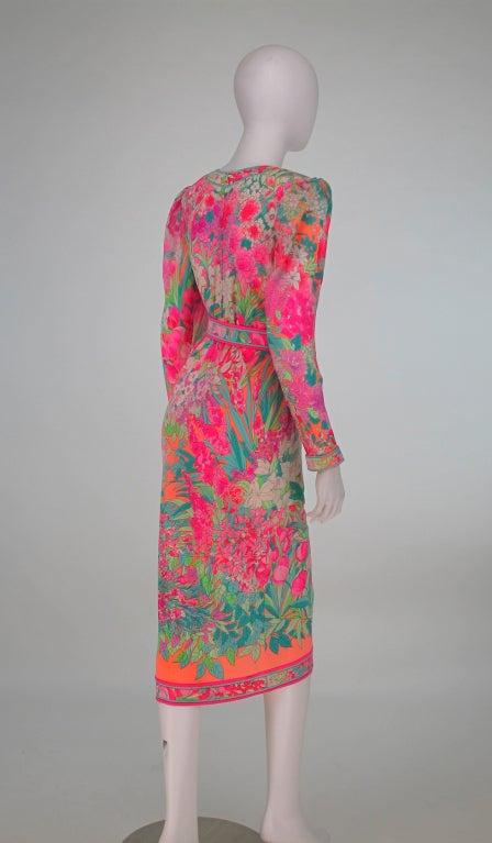 Leonard, Paris silk knit dress 6