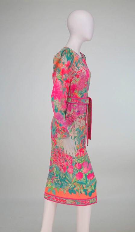 Leonard, Paris silk knit dress 7