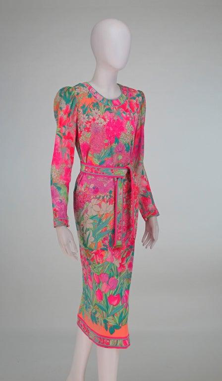 Leonard, Paris silk knit dress 8