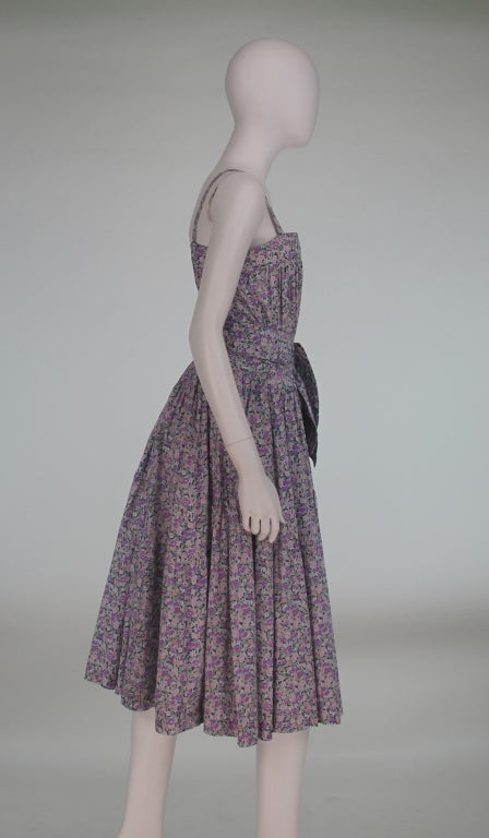 Cacharel Liberty Of London Floral Dress 1970s At 1stdibs
