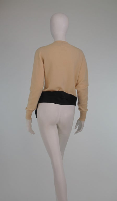 Chanel  cashmere wrap sweater image 6