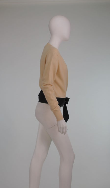 Chanel  cashmere wrap sweater image 7