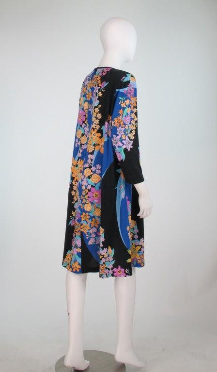 Averardo Bessi fine cotton knit tent dress In Excellent Condition For Sale In West Palm Beach, FL