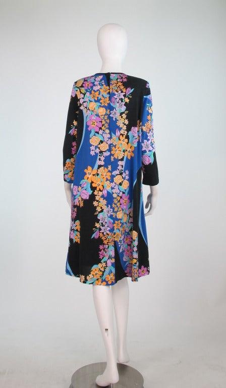 Women's Averardo Bessi fine cotton knit tent dress For Sale