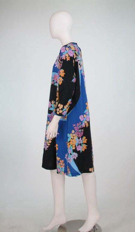 Averardo Bessi fine cotton knit tent dress For Sale 1