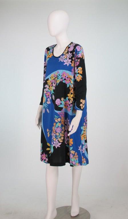 Averardo Bessi fine cotton knit tent dress For Sale 2
