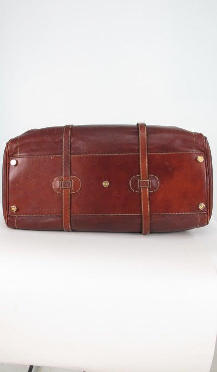 Loewe Madrid Leather And Suede Duffel Bag At 1stdibs