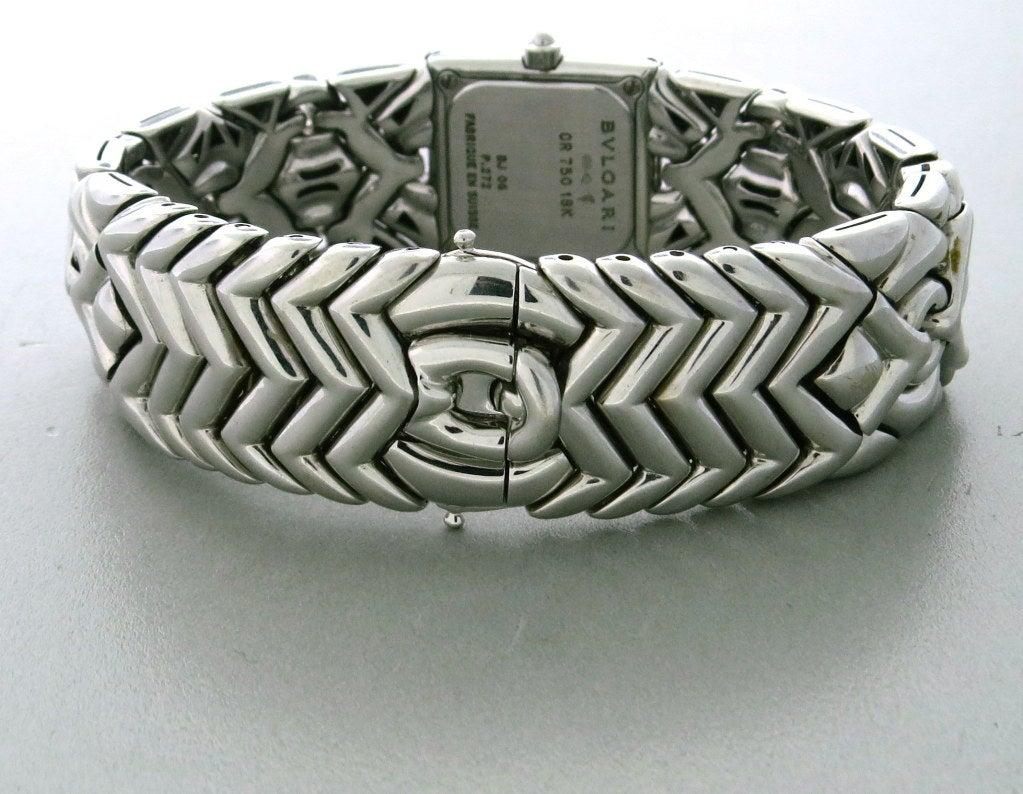 Lady's Bulgari Gold Diamond Trika Bracelet Watch 3