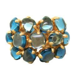 Pomellato Nausicaa Gold Topaz Ring