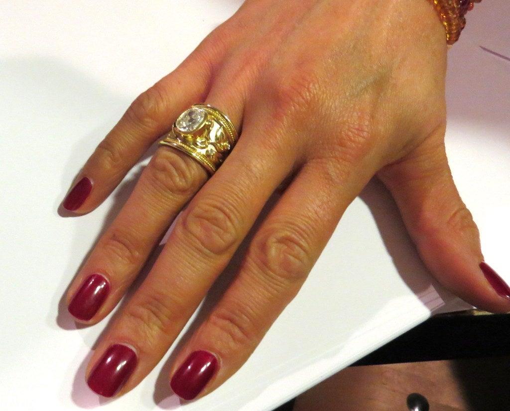 Elizabeth Gage Diamond Ring