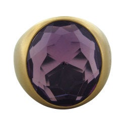 POMELLATO Narciso Rose Gold Amethyst Ring