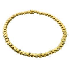 Marina B Diamond Gold Necklace