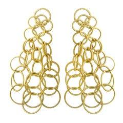 Buccellati Hawaii Gold Earrings