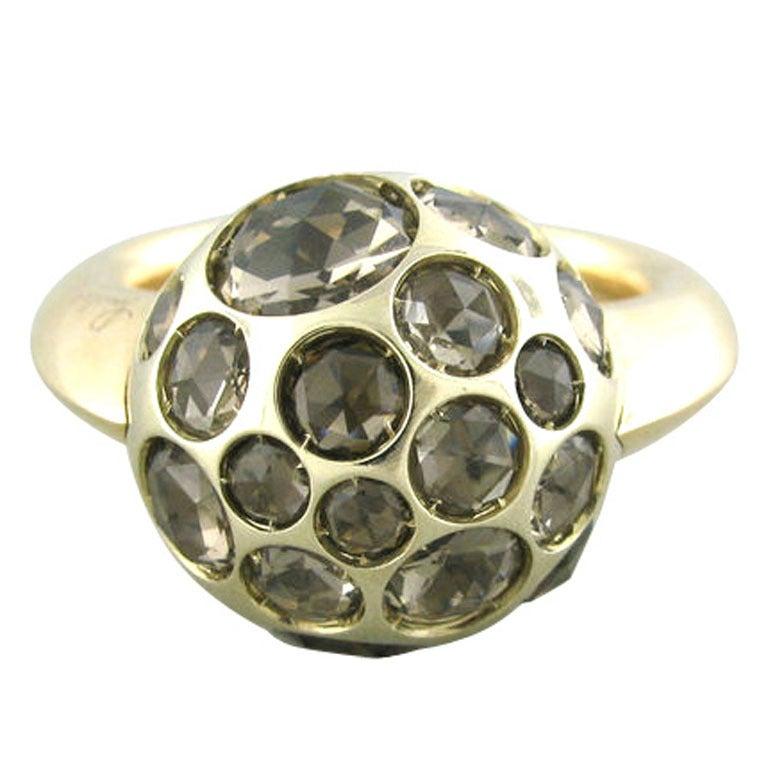 Pomellato Harem Gold Quartz Ring