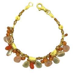Gurhan Multi Gemstone Gold Bracelet
