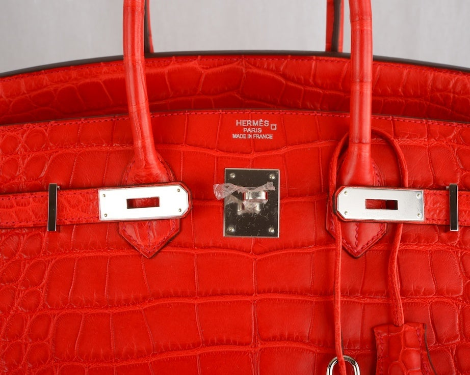 red brighton handbag - hermes bags red