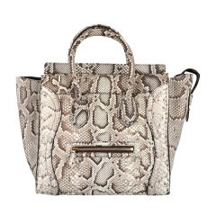 CELINE 2012 PYTHON MINI LUGGAGE SOLD OUT