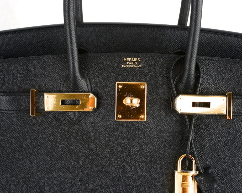 replica birkin bags for sale - THE BEST HERMES BIRKIN BAG 30CM BLACK EPSOM WITH GOLD HARDWARE at ...
