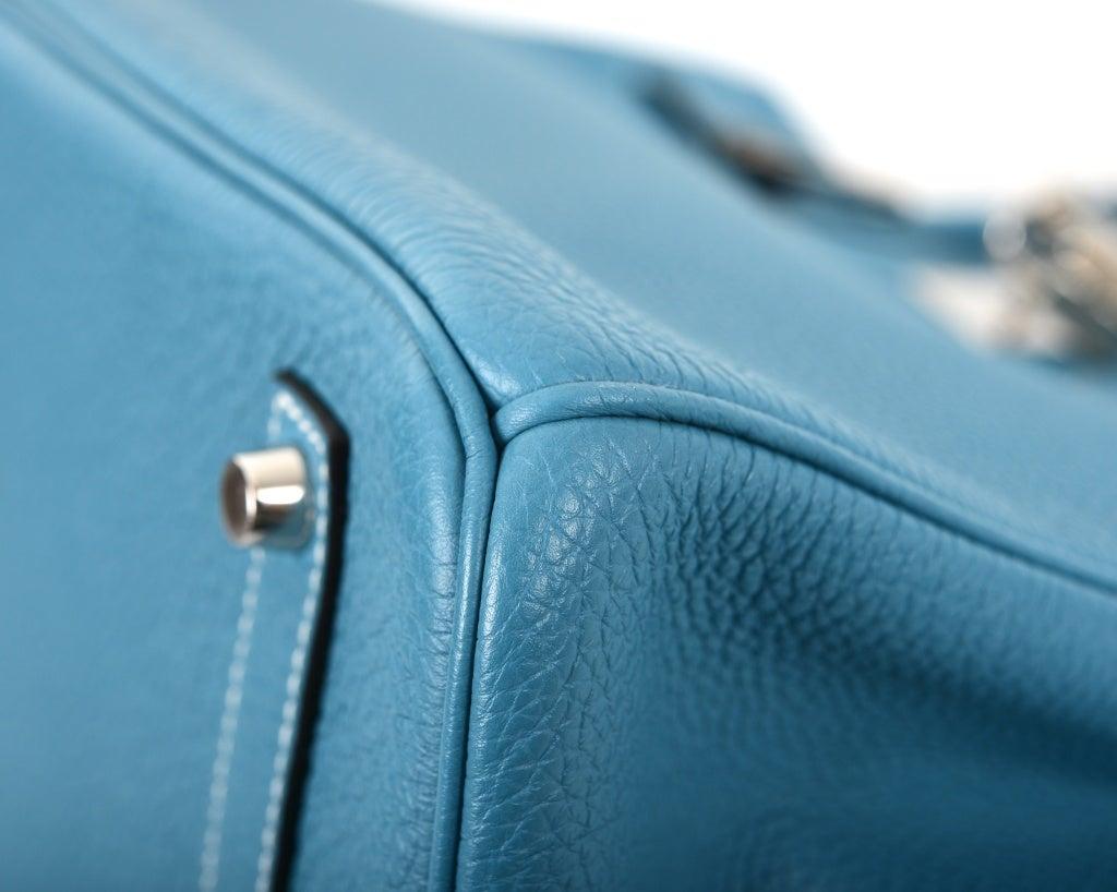 hermes birkin bag white - AMAZING FIND HERMES BIRKIN BAG 35CM BLUE JEAN GORGEOUS TOGO PHW at ...