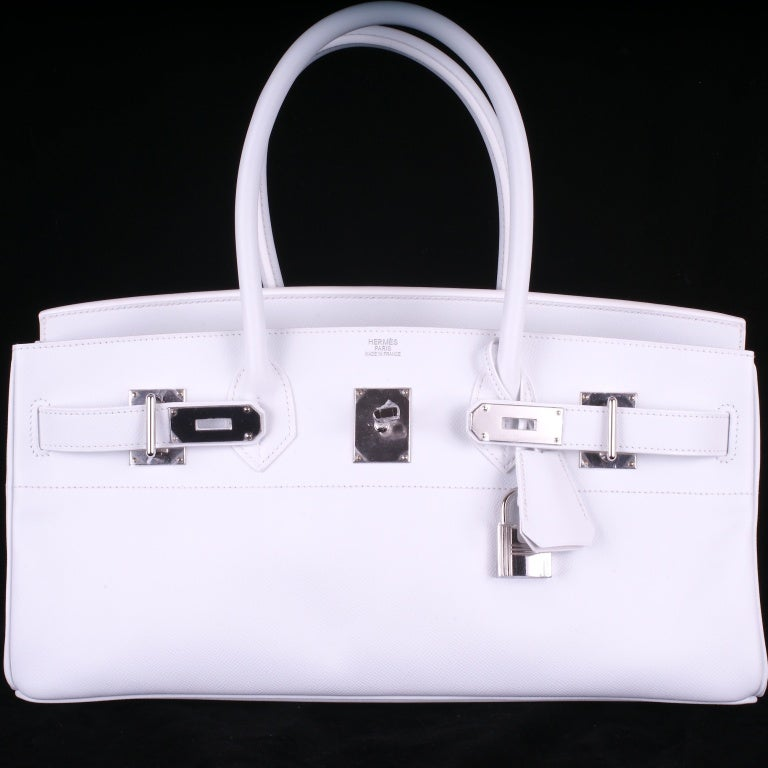herms bags - Hermes Birkin Bag Jpg Shoulder White 42Cm Epsom Pl JaneFinds at ...